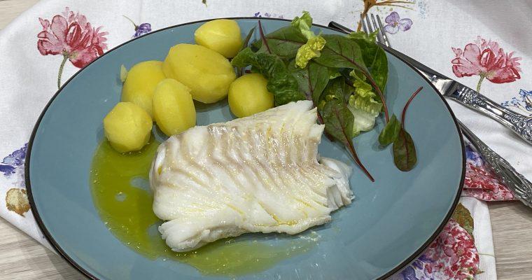 Kabeljau Loins und eigenes Kochfischgewürz