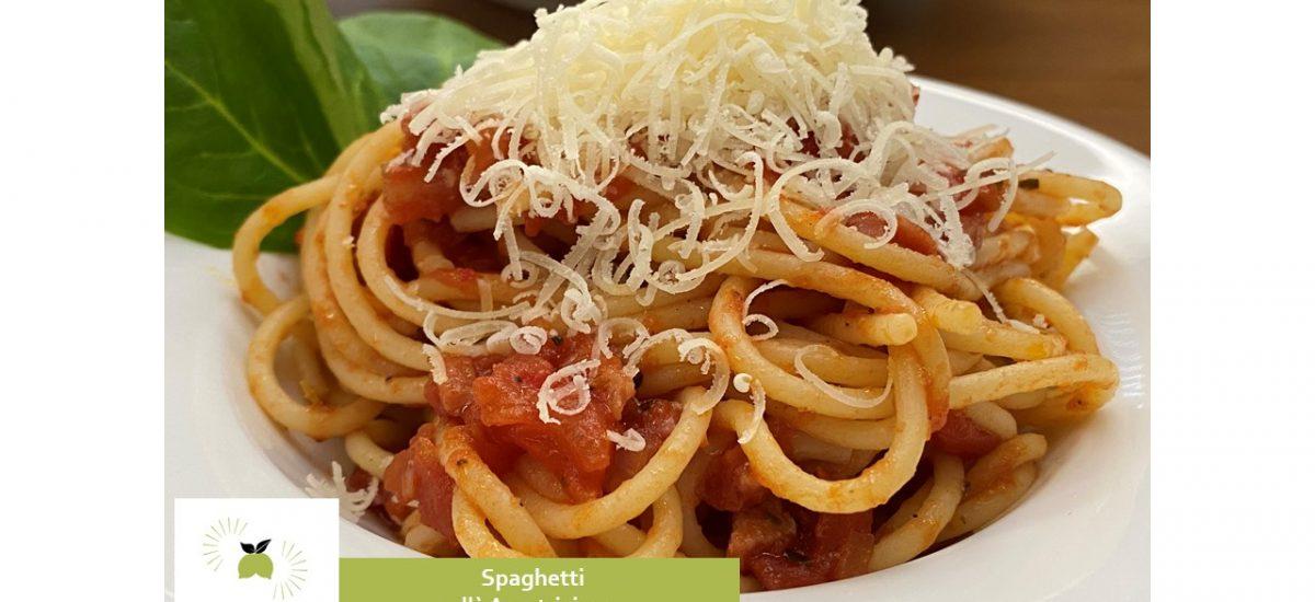 Spaghetti all´ Amatriciana – ein schnelles und einfaches italienisches Pasta-Gericht