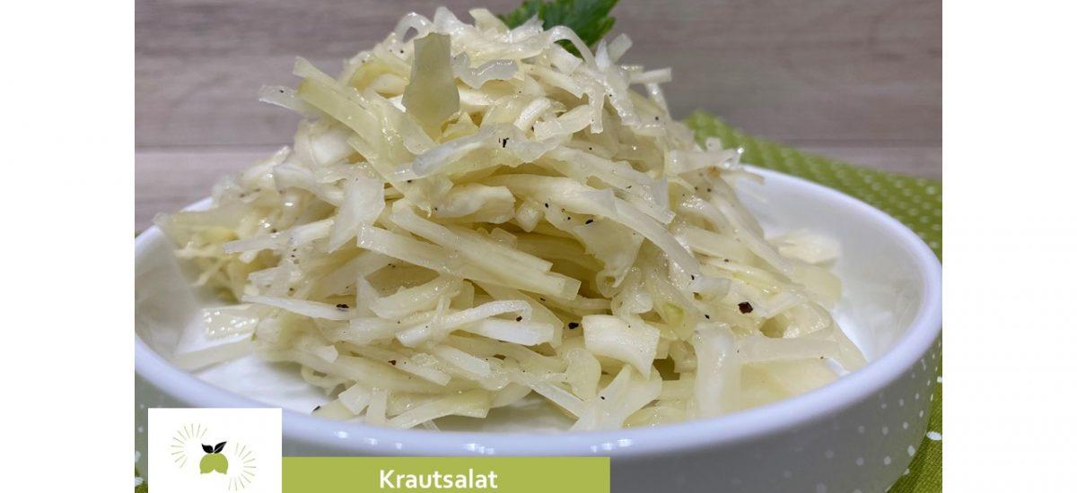 Krautsalat – erfrischend, mit einer Essig-Öl Marinade