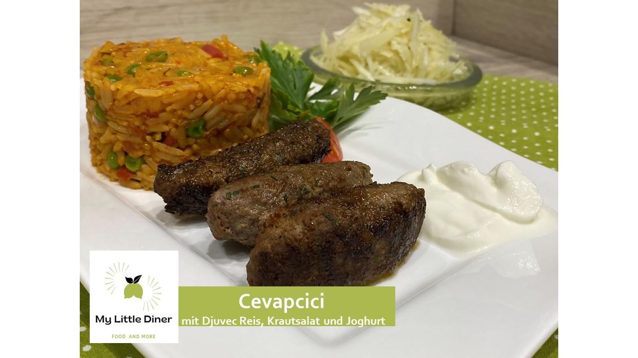 Cevapcici – Spezialität aus der Balkan Region